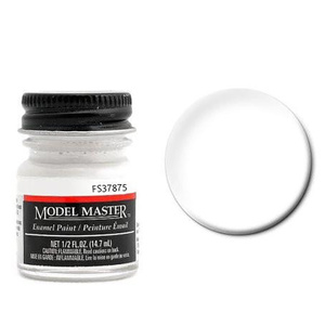 Model Master enamel Flat White Paint 37875 1/2 oz #1768