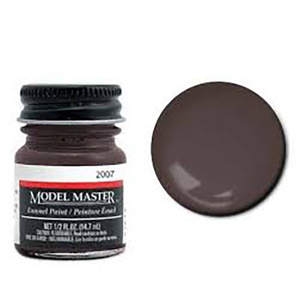 Model Master Burnt Sienna enamel Paint 1/2 oz #2007
