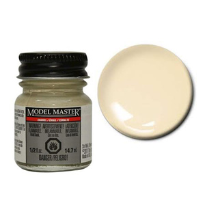 1/2oz. Model Master Enamel Light Ivory -- Hobby and Model Enamel Paint -- #2709