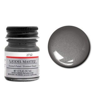 Model Master 1/2oz Graphite Metallic -- Hobby and Model Enamel Paint -- #2712