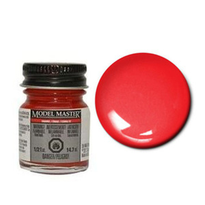 Model Master 2731 Chevy Engine Red Enamel Paint 14.7ml Jar