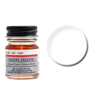 Model Master Clear Top Coat 1/2 oz #2736