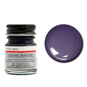 Model Masters  Auto 1/2oz Plum Crazy Enamel Paint