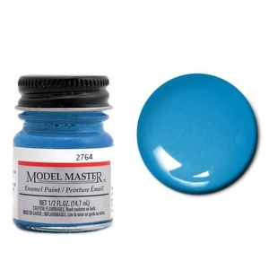 Model Masters Car 1/2oz (14.7mL) Grabber Blue Enamel Paint #2764