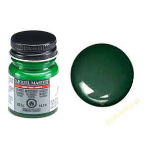 Model Masters Bright Green Gloss 1/2 oz (14.7ml) Enamel Paint #2773