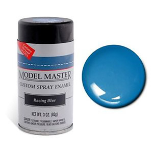Model Master 2940 Spray Racing Blue 3 oz (85 g) Enamel Paint Can