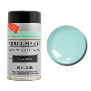 Model Master Spray Fifties Aqua 3 oz (85 g) Enamel# 2942