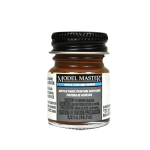 Leather Acrylic Paint  - Flat 4674 - 1/2 oz. Bottle by Model Master