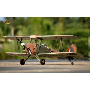 VQ Model - DH-82 Tiger Moth EP/GP 46 Size ARF - Camo