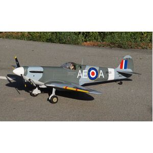 VQ MODELS RC SPITFIRE 50 SIZE EP or GP #VQA158