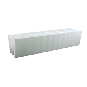 "4"" Support Panel Depth: 1/16"" (1.58mm) Width: 18"" (457.2mm) Length: 24"" (609.6mm) #C1173"