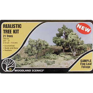 Medium Green Tree Kits #TR1111