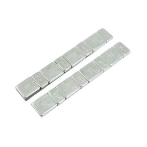 Wheel Weight 5 & 10g Adhesive Zinc Plated Steel Strip of 8 (4 x Each Weight)