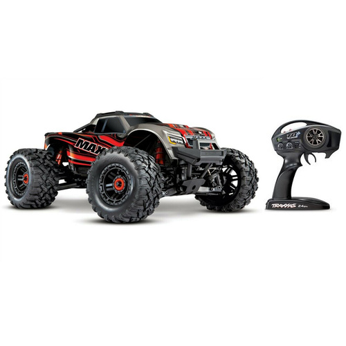 Traxxas 89076-4 Maxx Red 4X4 Brushless 4S Monster Truck