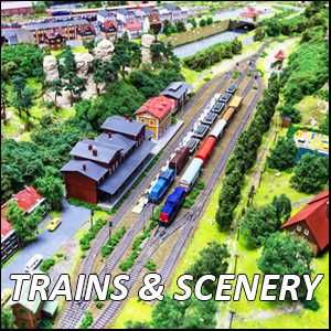 Train Sets & Scenery